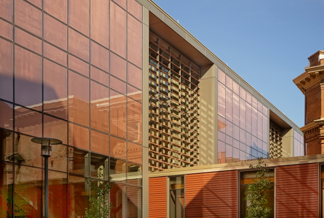 Saieh Hall for Economics, photography by Joel Snyder