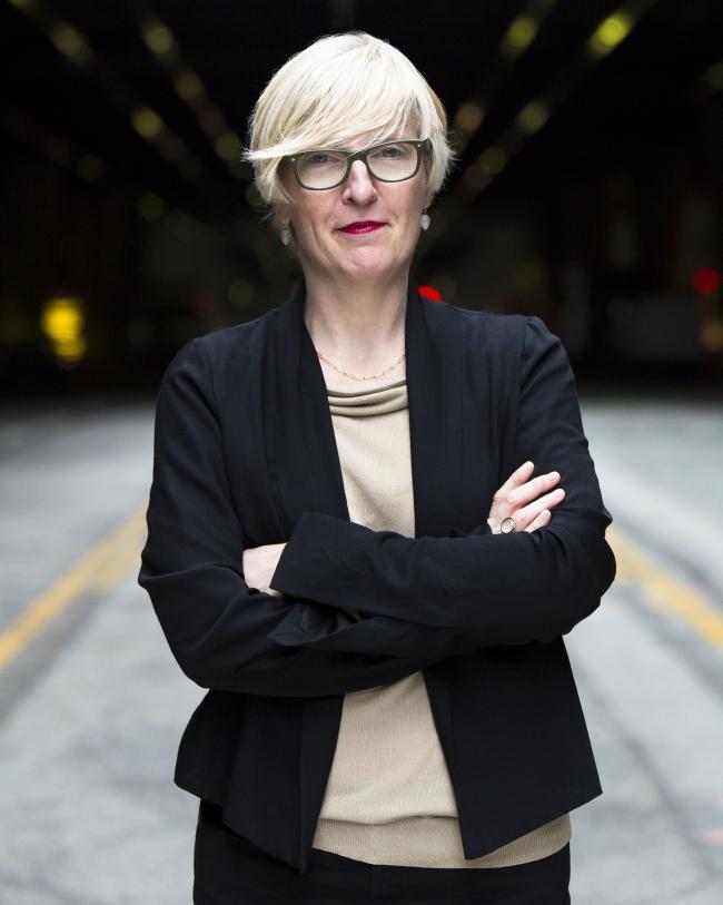 Helen Molesworth (photo by Myles Pettengill)