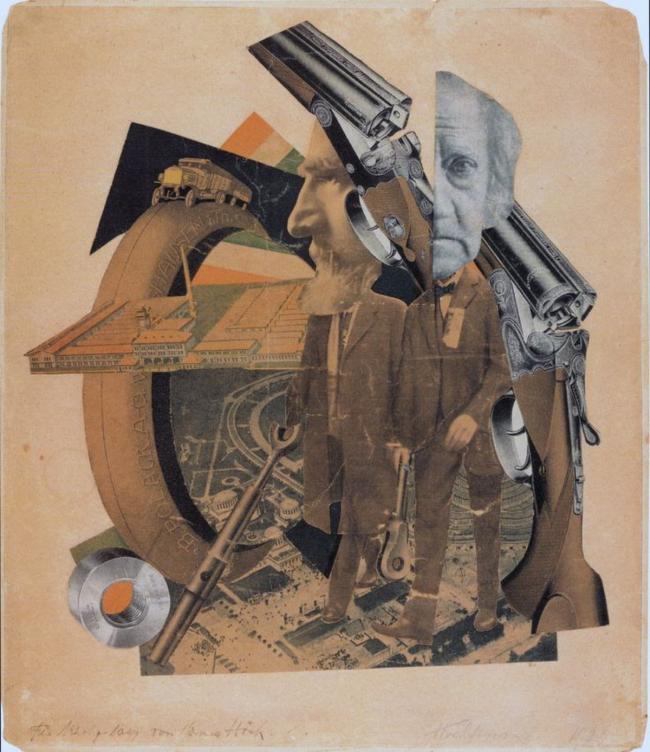 Hannah Höch, High Finance, 1923