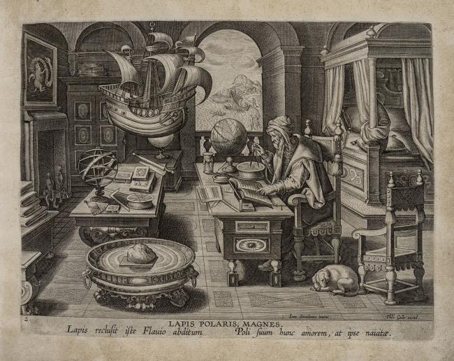Johannes Stradanus's Nova Reperta (c. 1588)