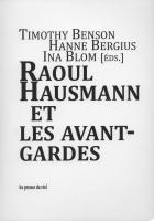 Raoul Hausmann cover