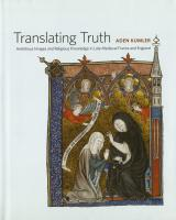Translating Truth cover