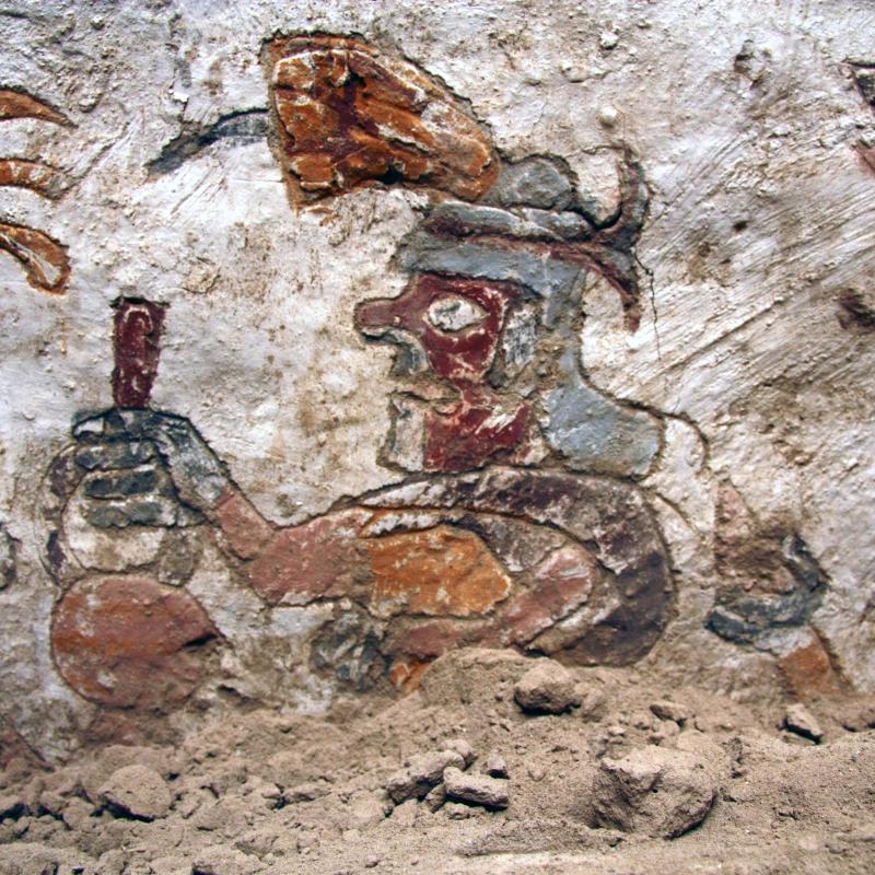 Moche mural art