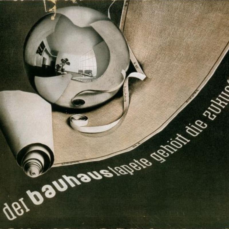 Joost Schmidt, Bauhaus Wallpaper, 1931