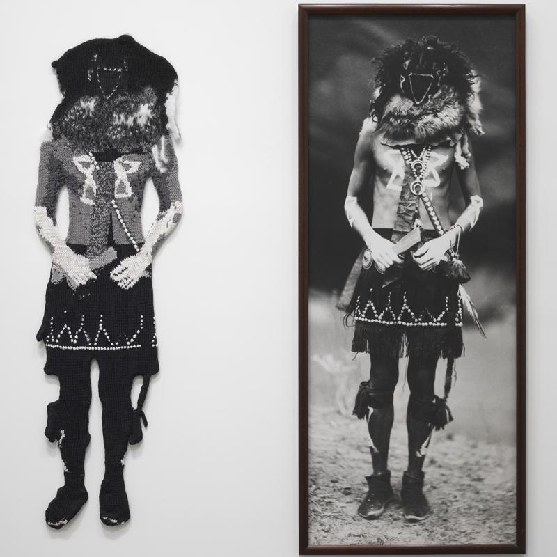 Elaine Reichek, Navajo (1992)