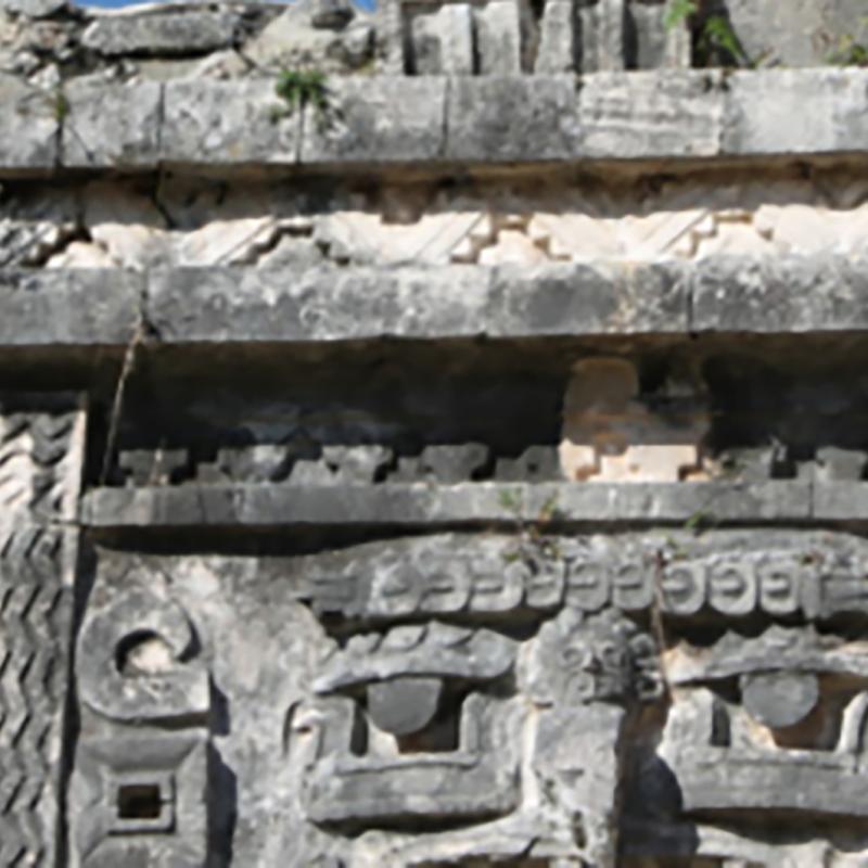 East Wing, Las Monjas group, Chichén Itzá, photograph by Ann Chandler Tune, December 2019 (7292778)