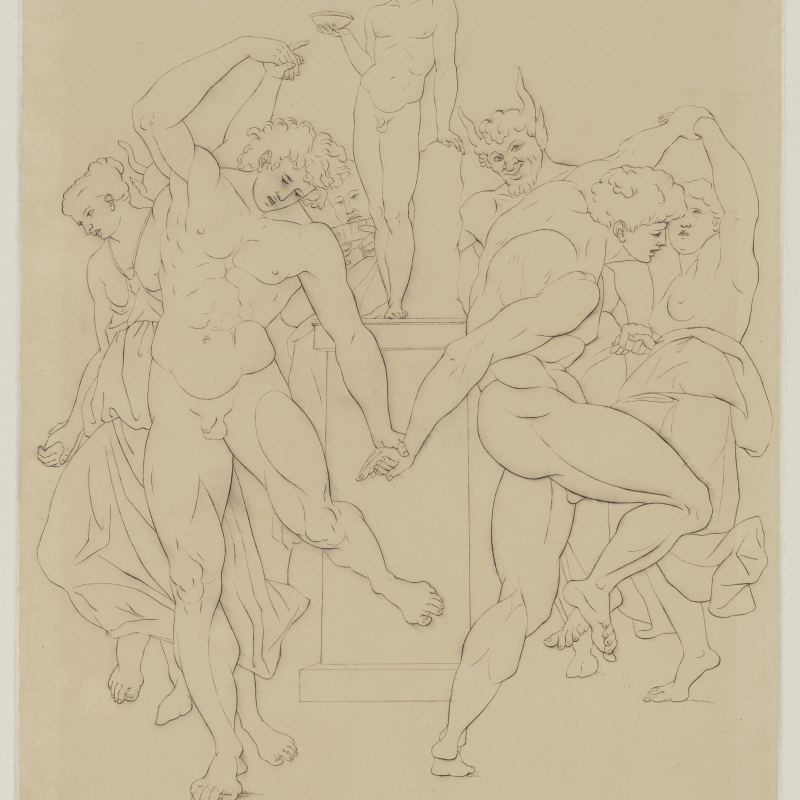 Asmus Jacob Carstens, Bacchanalian Dance, 1784-86. Copyright: Klassik Stiftung Weimar, Bestand Museen