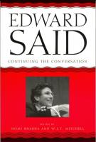 Edward Said cover