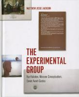 Experimental Group cover