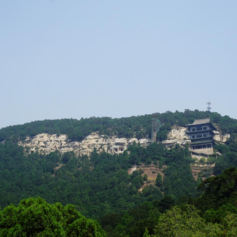 Tianlongshan Caves Project