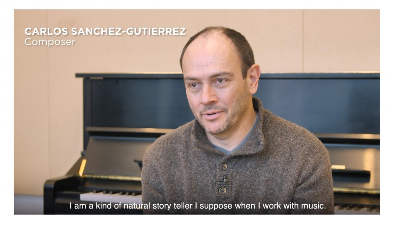 Carlos Sanchez-Gutierrez in interview with CCCC
