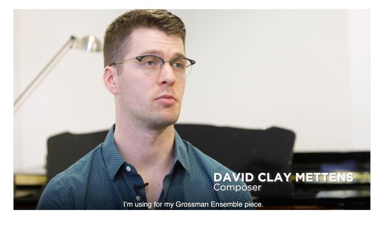 David Clay Mettens in interview with CCCC
