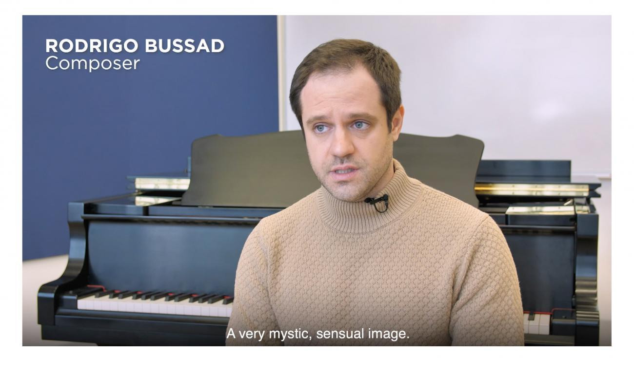 Rodrigo Bussad in interview with CCCC