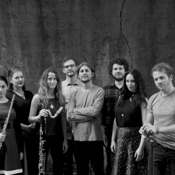 Fonema Consort members, black and white