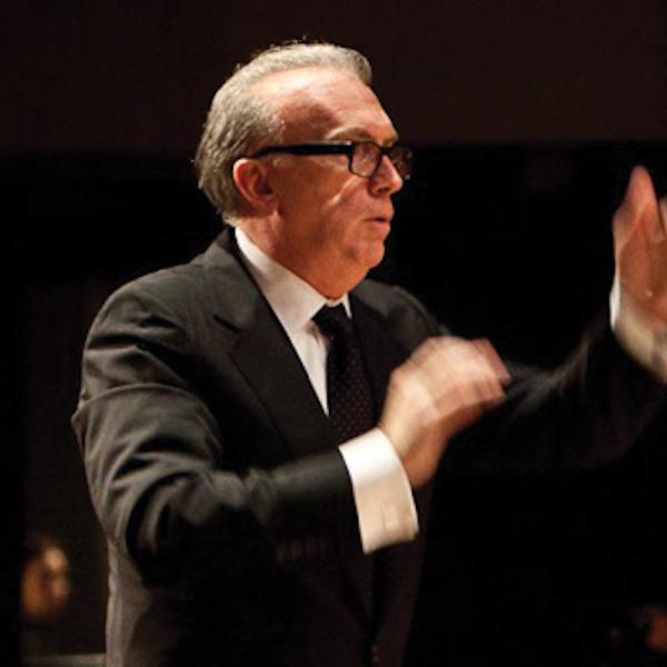 James Baker conducting