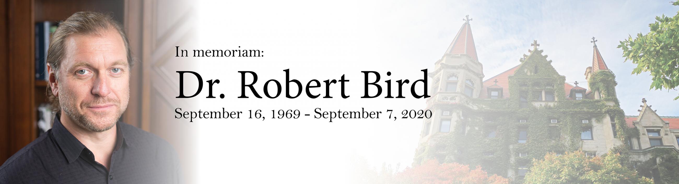 Dr. Robert Bird