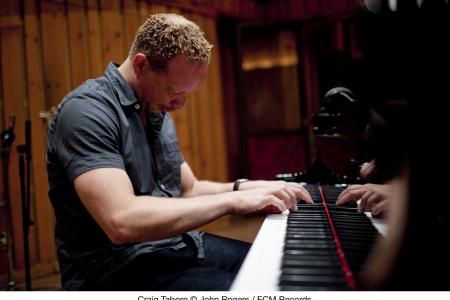 Craig Taborn at the piano