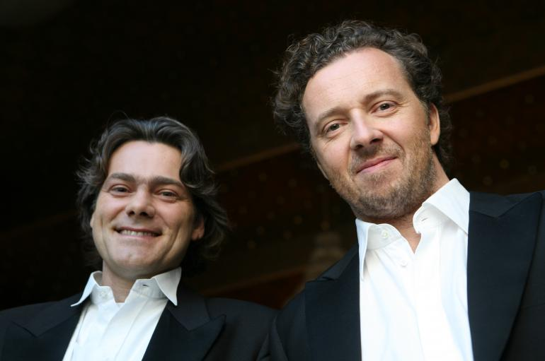 Christian Gerhaher and Gerold Huber