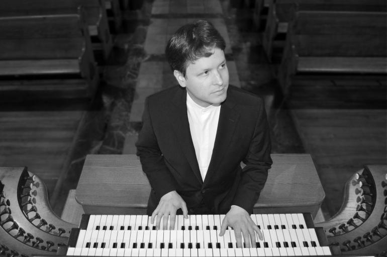 Paul Jacobs at organ