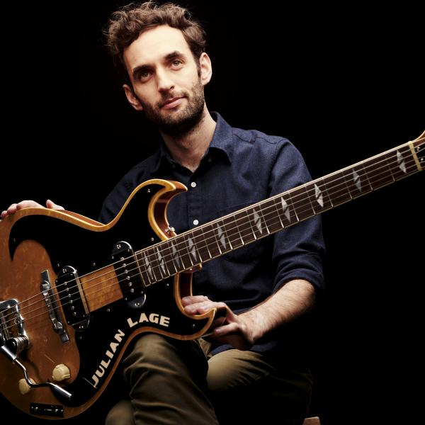 Julian Lage with guitar