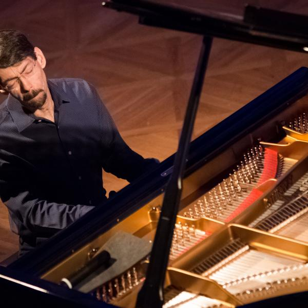 Fred Hersch at the piano