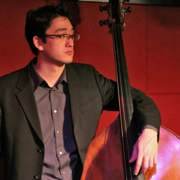 David Wong with upright bass