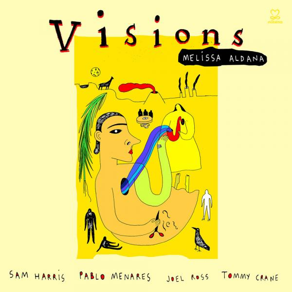 Cover art for Visions for Frida Kahlo