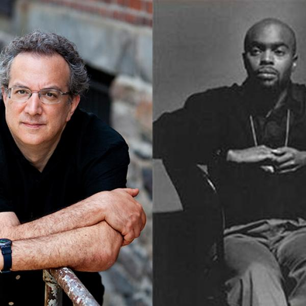 Uri Caine and Travis Jackson in side-by-side images