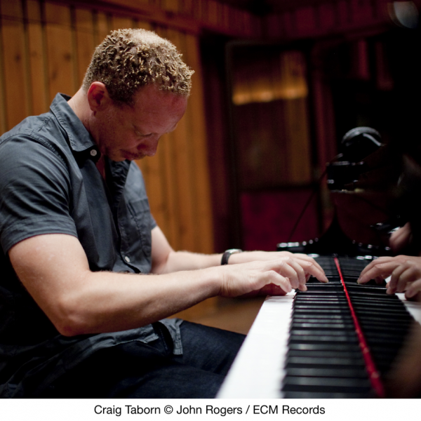 Craig Taborn at the piano