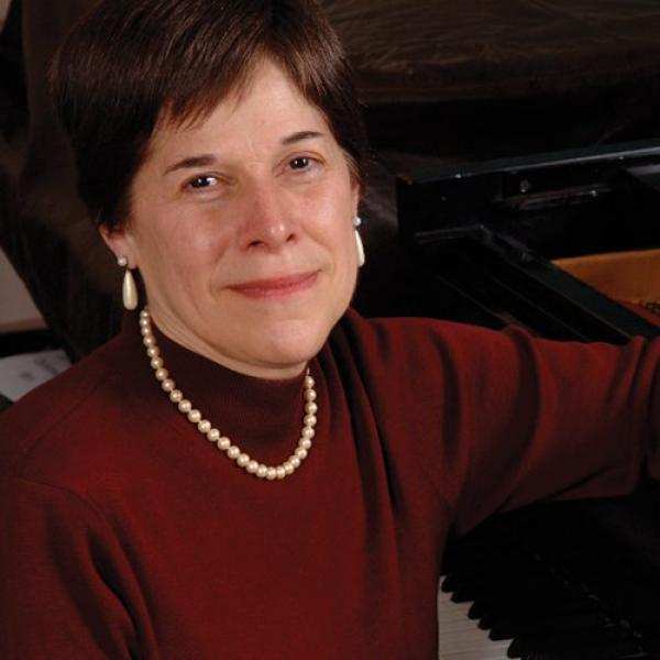 Cynthia Raim at piano
