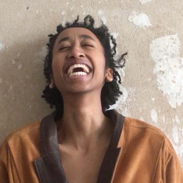 Eden Girma laughing