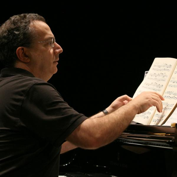 Uri Caine at the piano