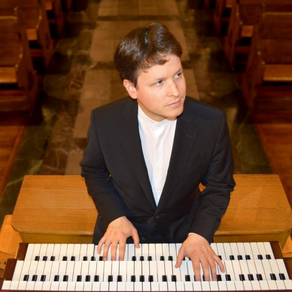 Paul Jacobs at organ