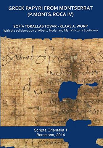 Greek Papyri from Montserrat. P.Monts.Roca IV