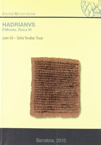 Hadrianvs. P. Monts. Roca III