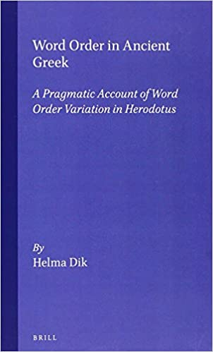 Word Order in Ancient Greek