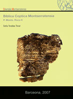 Biblica Coptica Montserratensia