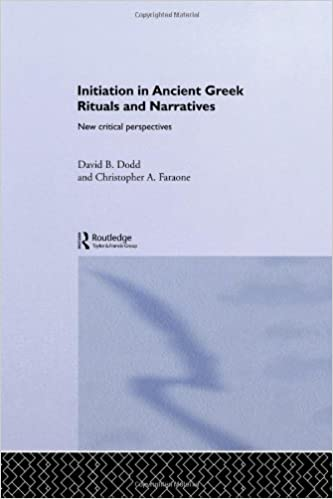 Initiation in Ancient Greek Rituals and Narratives