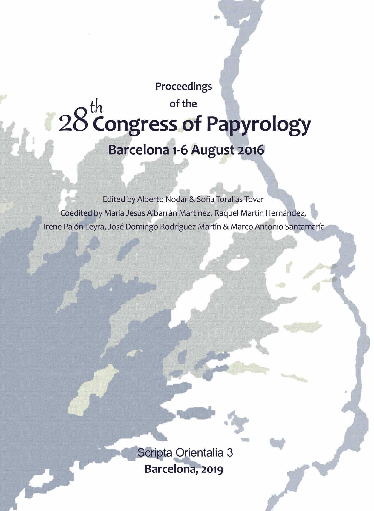 Proceedings of the 28th Congress of Papyrology