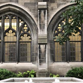 Swift Hall Courtyard - Traci Verleyen