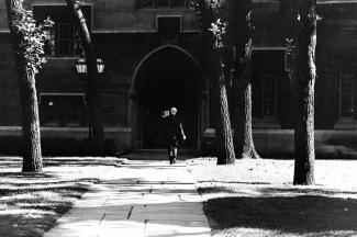 Classics Building - Arch 1; UChicago Photo Archive