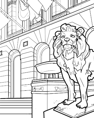 Art Institute coloring page download