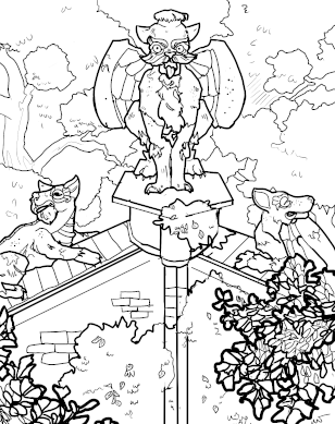 Cobb Hall coloring page download
