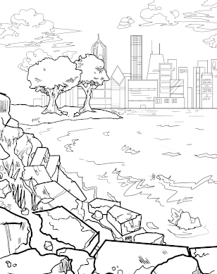 Promontory Point coloring page download