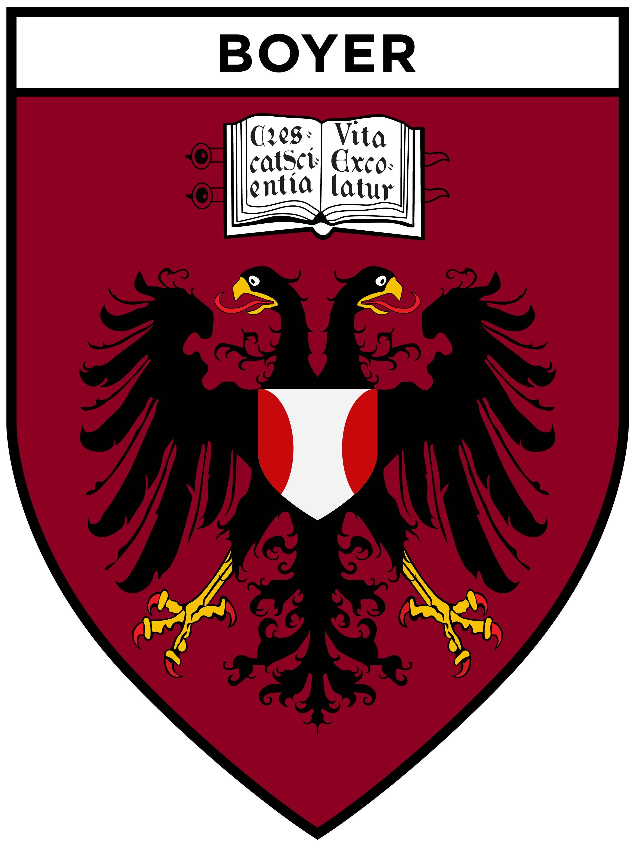 Boyer House Shield