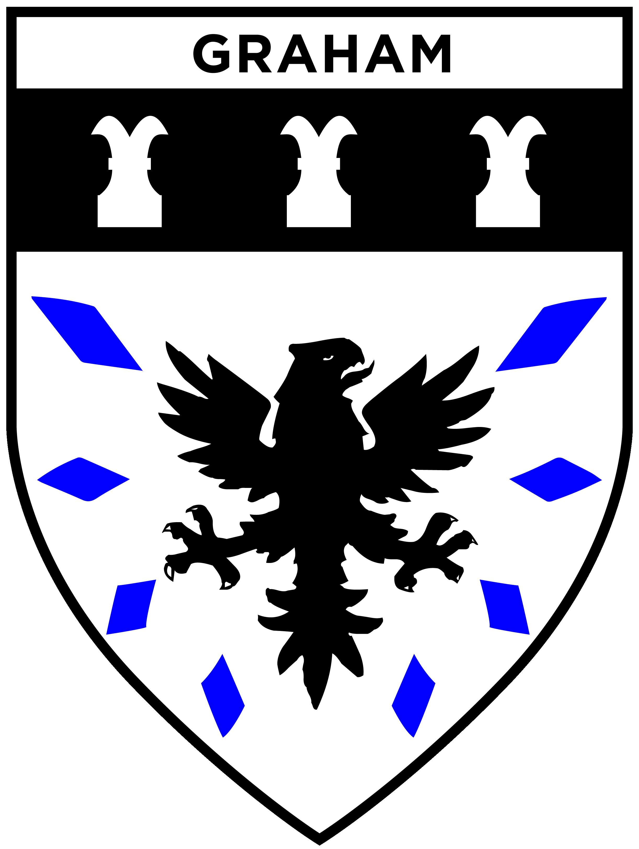 Graham House Shield