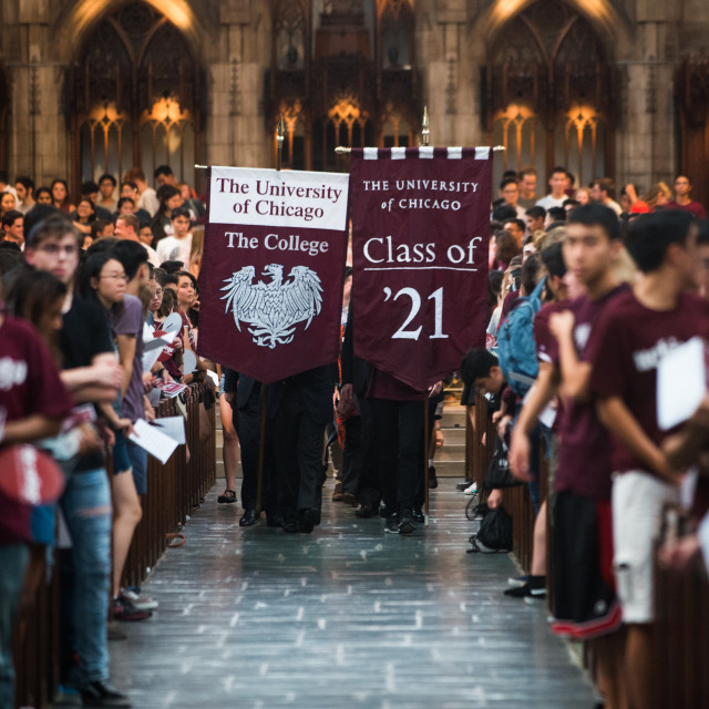 Class of 2021, Opening Convocation event during Orientation 2017