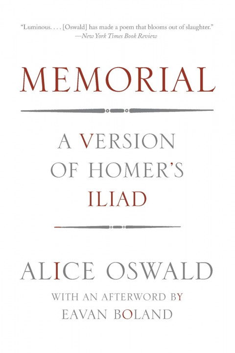 Cover of Memorial by Alice Oswald