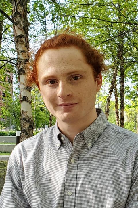 A portrait of Silas Busch