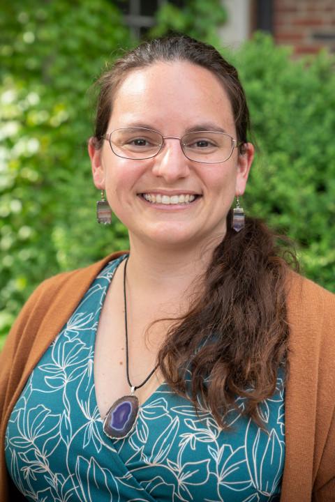 A portrait of Jessica Kirzane
